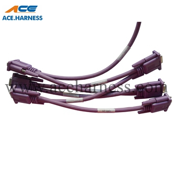 ACE0301-48 Industrial cable assembly with WAGO 5P connector