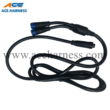 ACE0902-69 Delphi round connector waterproof cable