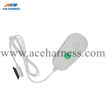 ACE0201-39 Nurse call cable assembly with Pogo-pin connector