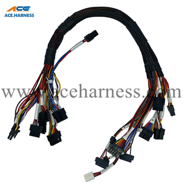 ACE0301-51 Wire harness with Molex connectors