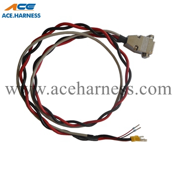 ACE0301-4 External power cable with 7W2 plug