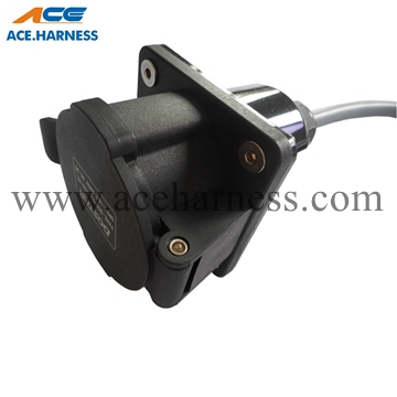 ACE0701-4 AC electric vehicle charging Socket/ Plug/ Connector