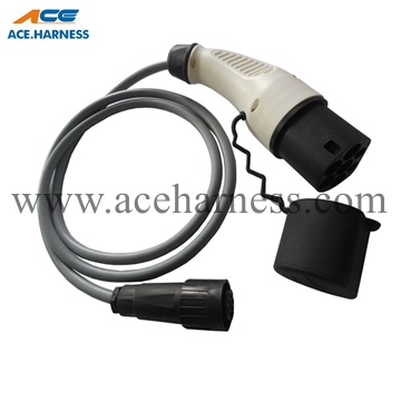 ACE0701-3 Auto electric vehicle cable for car charging