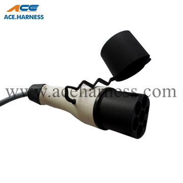 ACE0701-1 EV charging Socket/ Plug/ Connector