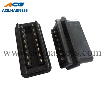 ACE0802-1 16pin Male OBD Connector